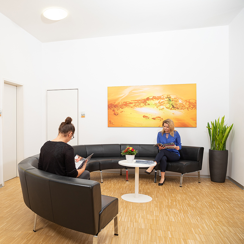 Empfangsbereich - Strahlentherapie Schwäbisch Gmünd